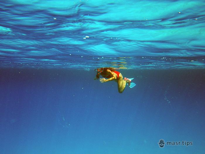 плавання з маскою