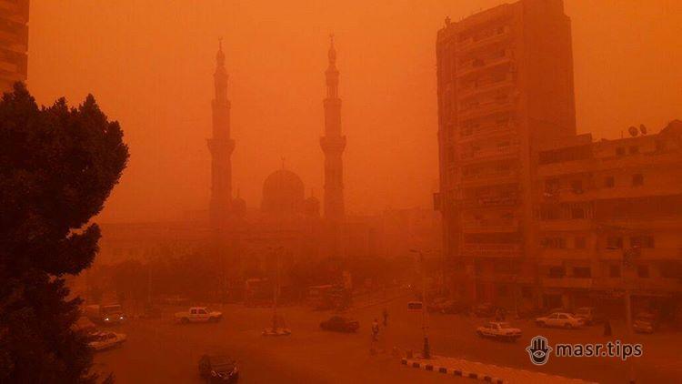 Піщана буря в Єгипті